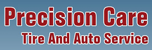 Precision Care Tire And Auto Service Logo