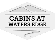 Cabins at Waters Edge Logo