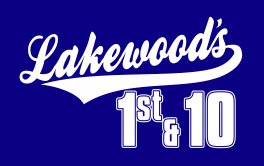 Lakewood's First & 10 Logo