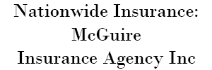 Nationwide Insurance: McGuire Insurance Agency, Inc. Logo