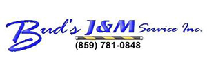Bud's J & M Service Logo