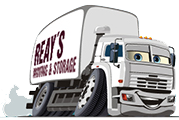 Reay's Moving & Storage Logo