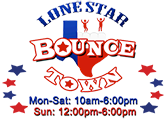 Lone Star Bounce Town of Alvin Logo
