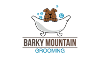 Barky Mountain Grooming Logo