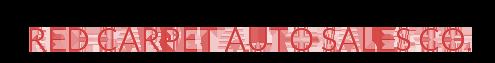 Red Carpet Auto Sales Co. Logo