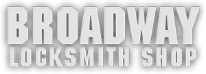 Broadway Locksmith Shop Logo