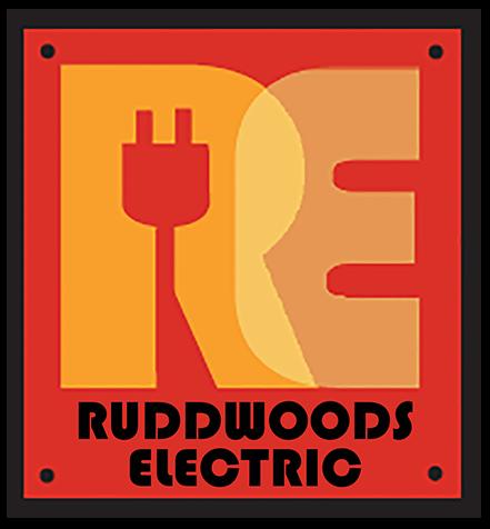 Ruddwoods Electric Logo