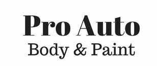 Pro Auto Body & Paint Logo