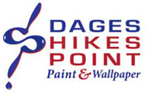 Dages Hikes Point Paint & Wallpaper Logo