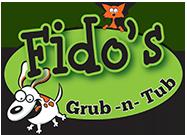 Fido's Grub-n-Tub Logo