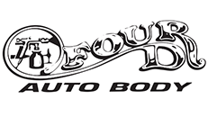 Four D Auto Body Logo