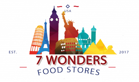 7 Wonders Food Stores Logo