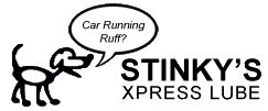 Stinky's Express Lube Logo