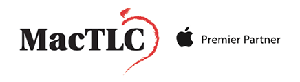MacTLC Apple Repair & Sales Logo