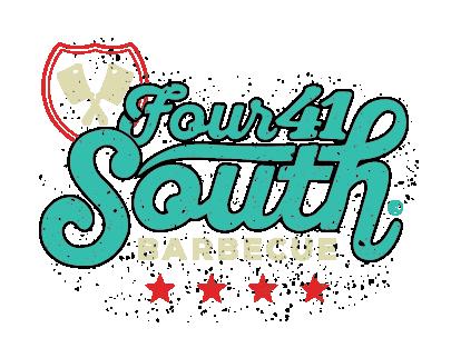 Four 41 South BBQ Co. Logo