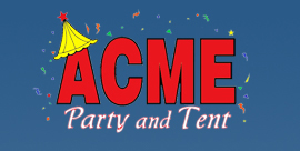 Acme Party and Tent Logo