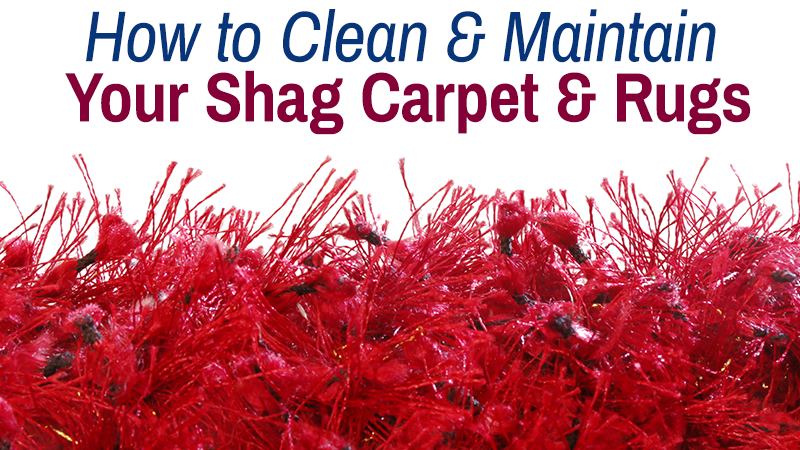 How to Clean and Maintain Your Shag Carpet & Rugs