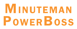 Minuteman Powerboss Logo