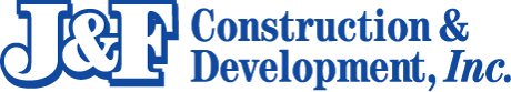 J&F Construction & Development Logo
