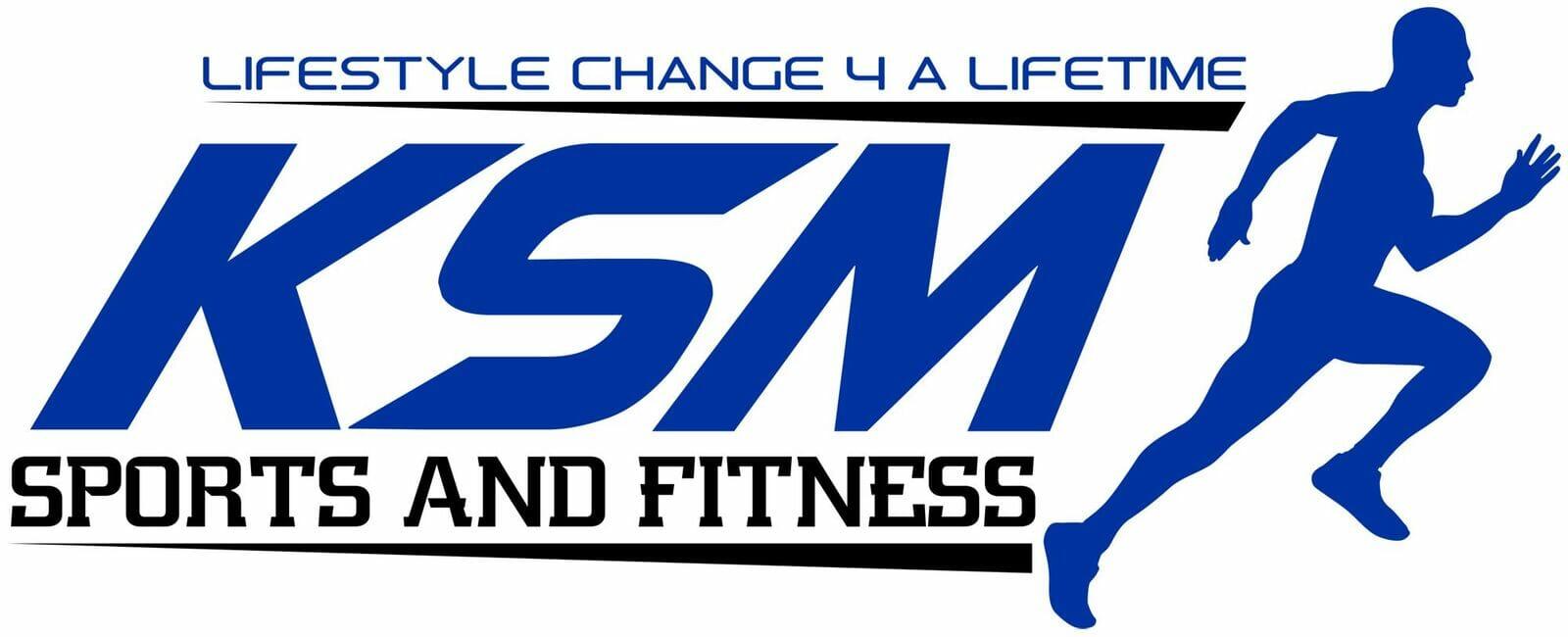 KSM Sports & Fitness Logo