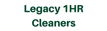 Legacy 1HR Cleaners Logo