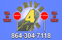 Drive4Life Driving Academy Logo