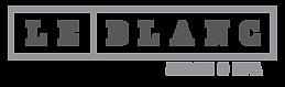 Le Blanc Salon & Spa Logo