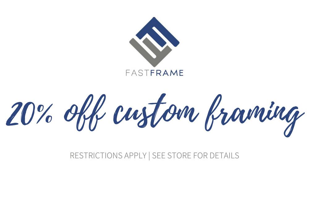 Frame Shop Atlanta, GA | Frame Shop Near Me | Fastframe Of Buckhead