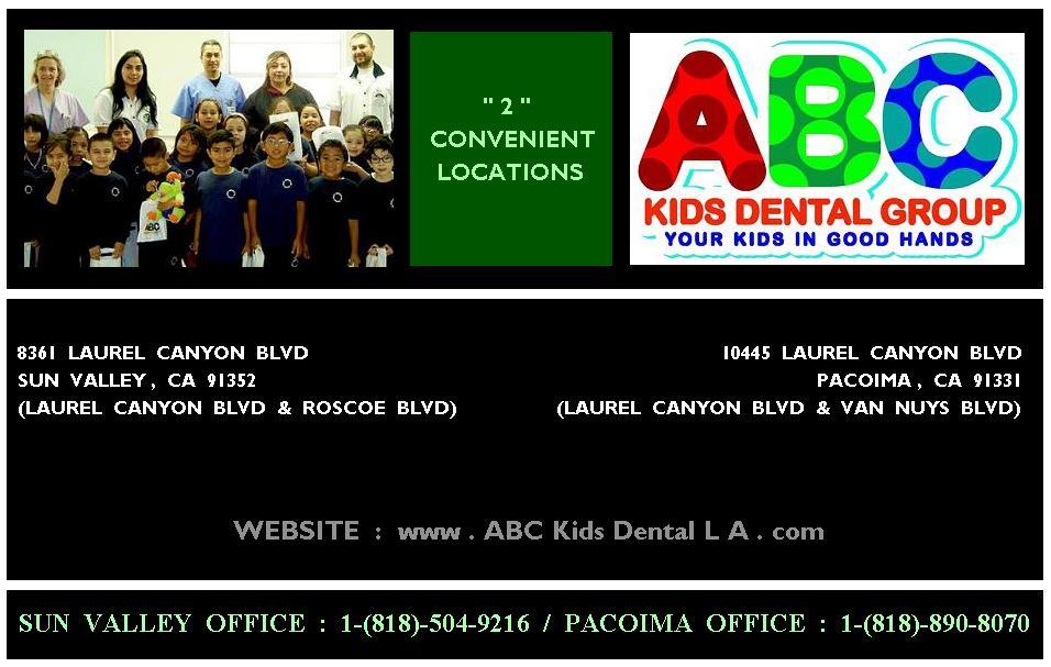 Pediatric Dentist Sun Valley CA