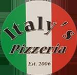 Italy's Pizzeria Logo