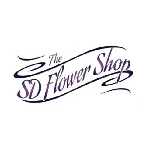 The SD Flower Shop Logo