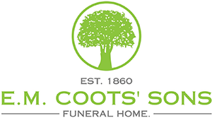 E M Coots' Sons Inc Funeral Home Logo