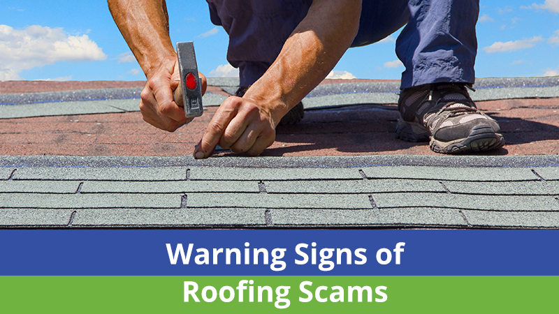 Warning Signs of Roofing Scams