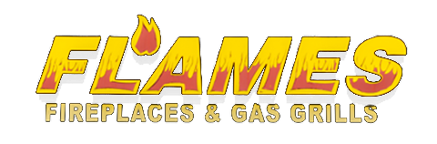 Flames Fireplaces & Gas Grills Logo