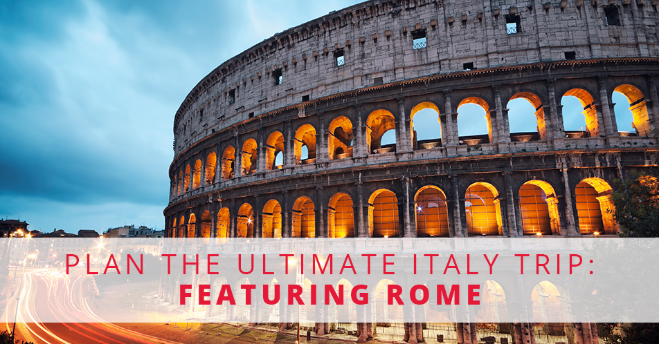 Plan The Ultimate Italy Trip Featuring Rome V3 Flatbread Pizza