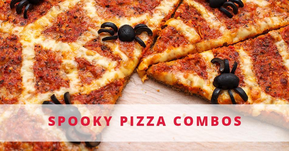 Spooky Pizza Combos V3 Flatbread Pizza