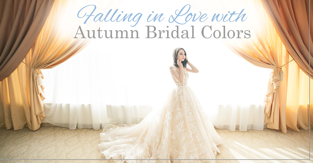Falling in Love with Autumn Bridal Colors