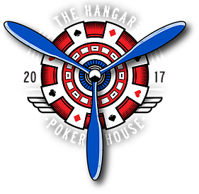 The Hangar Poker House Logo