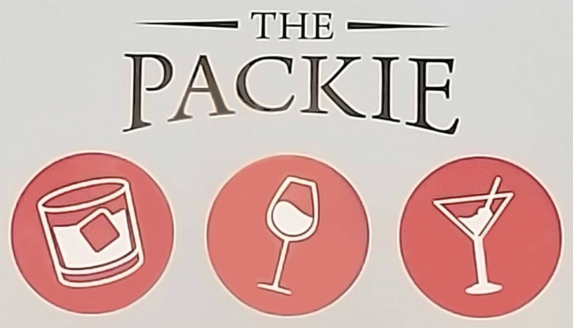 The Packie Wine and Spirits Logo
