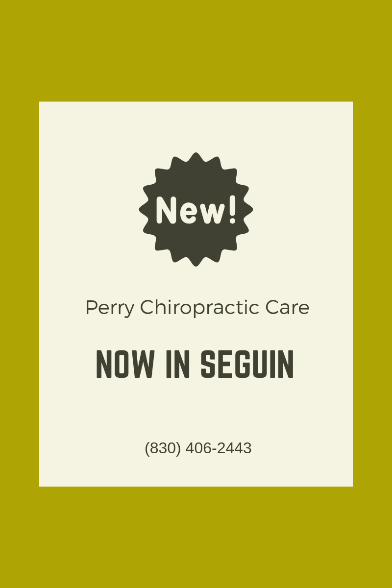 Chiropractor New Braunfels Tx Chiropractic Center Near Me Perry