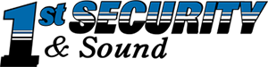 1st Security & Sound Logo