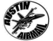 Austin Airmail Cornhole Logo