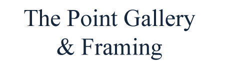 The Point Gallery & Framing Logo