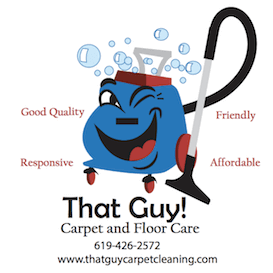 That Guy! Carpet, Floor Care, & Flood Restoration Logo