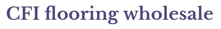 CFI Flooring Wholesale Logo