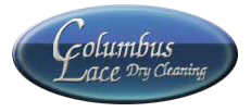 Columbus Lace Dry Cleaning Logo