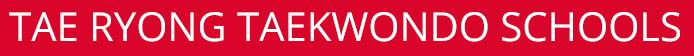 Tae Ryong Taekwondo Logo