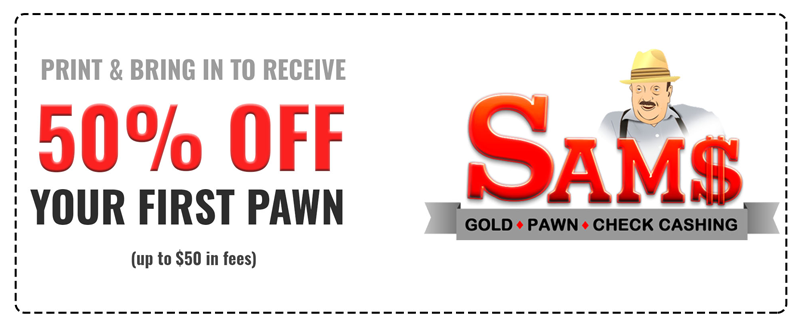 Pawn Shop Nicholasville, KY | Pawn Shop Near Me | Sam's Gold