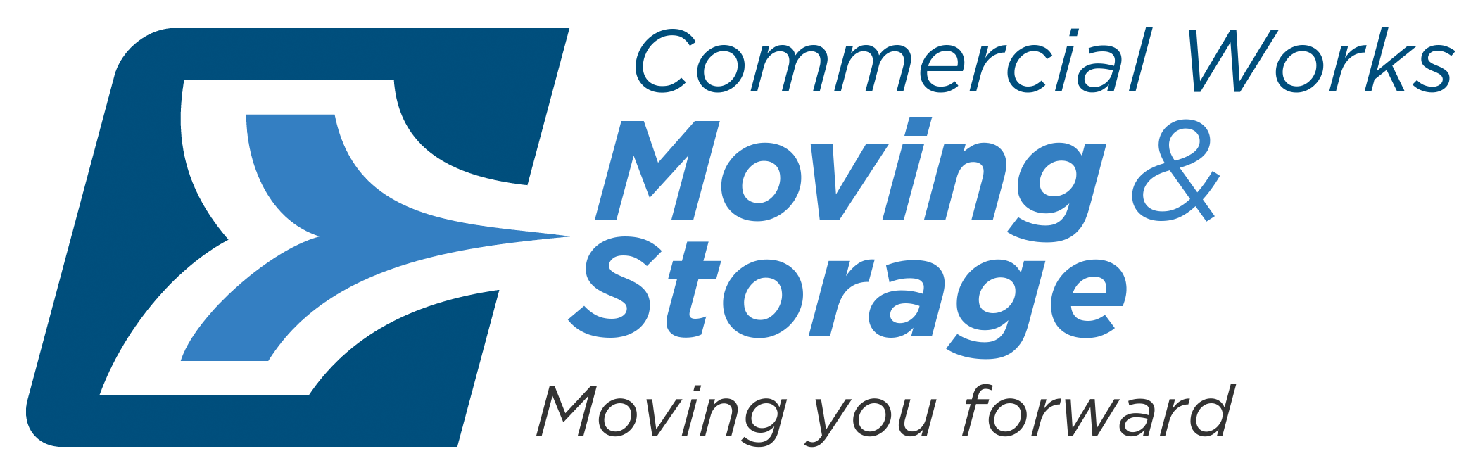 Commercial Works Moving & Storage Logo