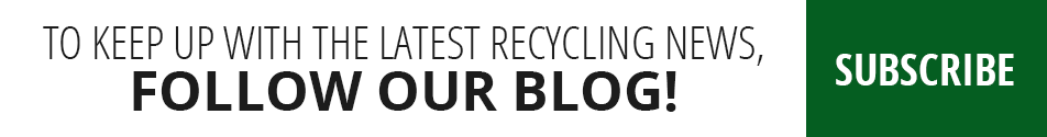 To keep up with the latest recycling news, follow us!